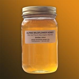 Amber Wildflower Honey