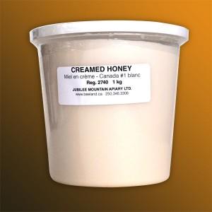Creamed Alfalfa Honey