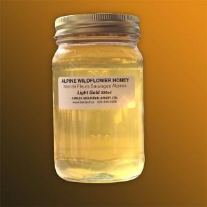 Light Gold Wildflower Honey