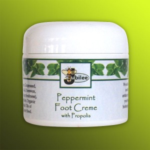 Peppermint Foot Creme with Propolis